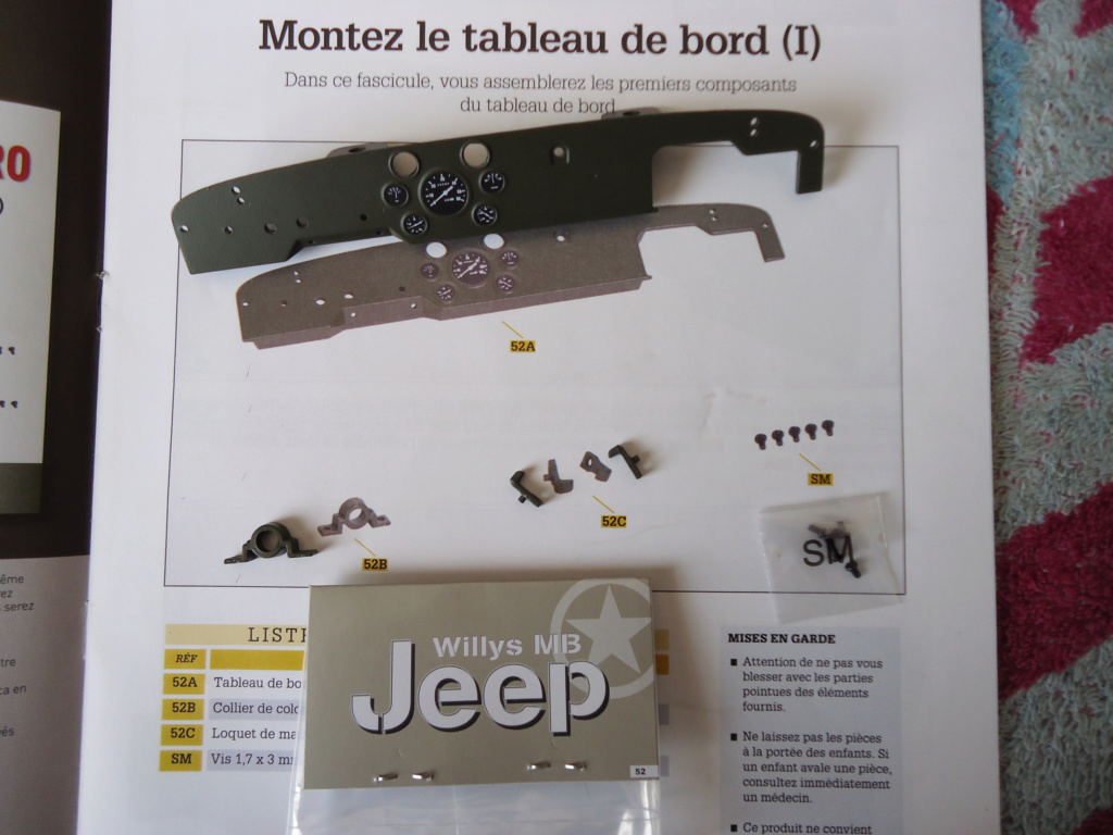 Jeep Willys MB au 1/8ème. Collection Hachette.Par Dan le Cévenol - Page 5 Dsc01326