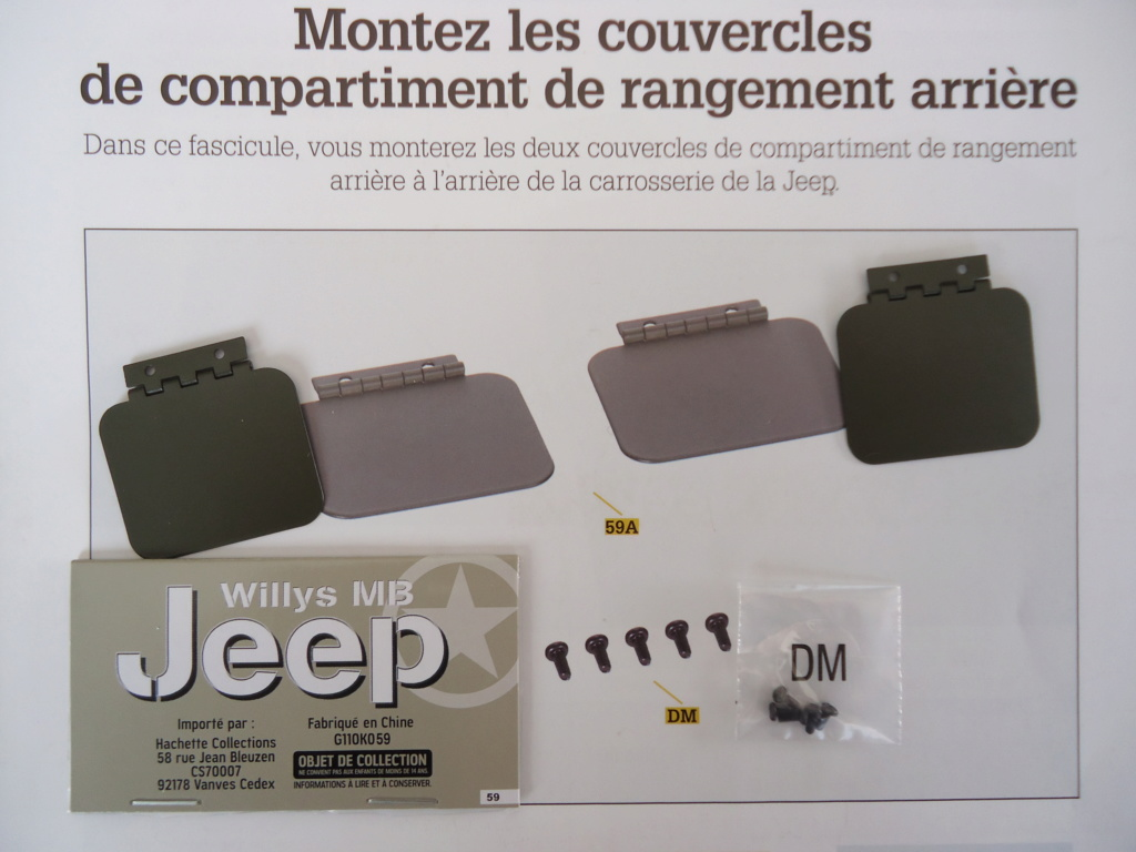 Jeep Willys MB au 1/8ème. Collection Hachette.Par Dan le Cévenol - Page 5 Dsc01346