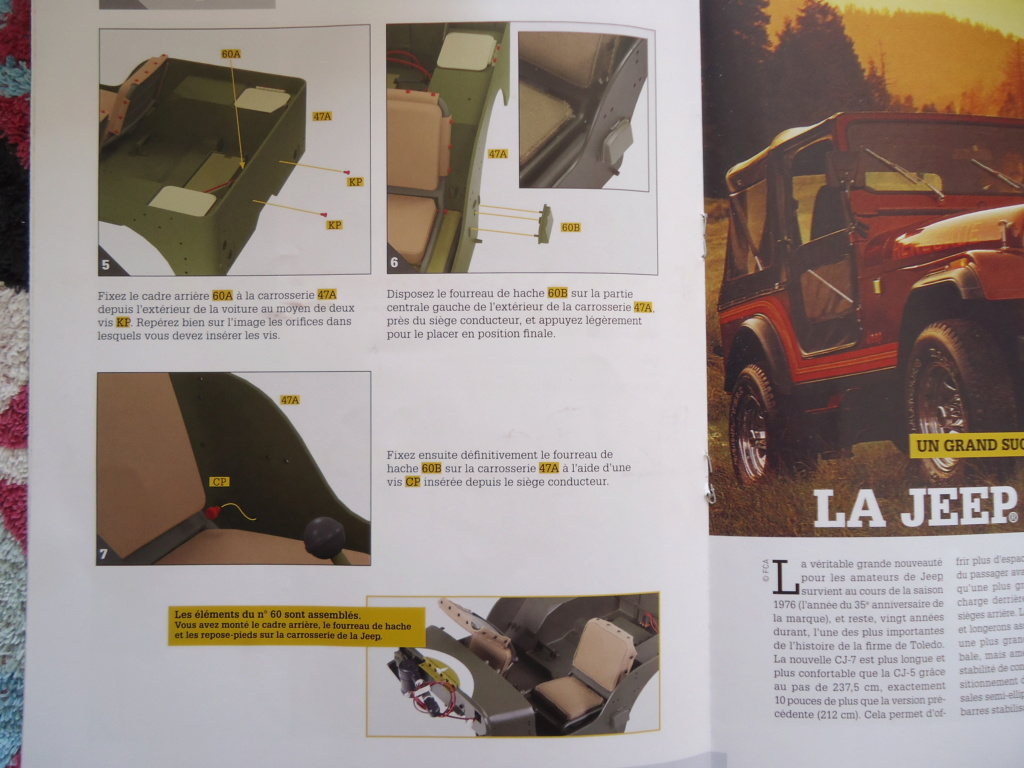 Jeep Willys MB au 1/8ème. Collection Hachette.Par Dan le Cévenol - Page 5 Dsc01351
