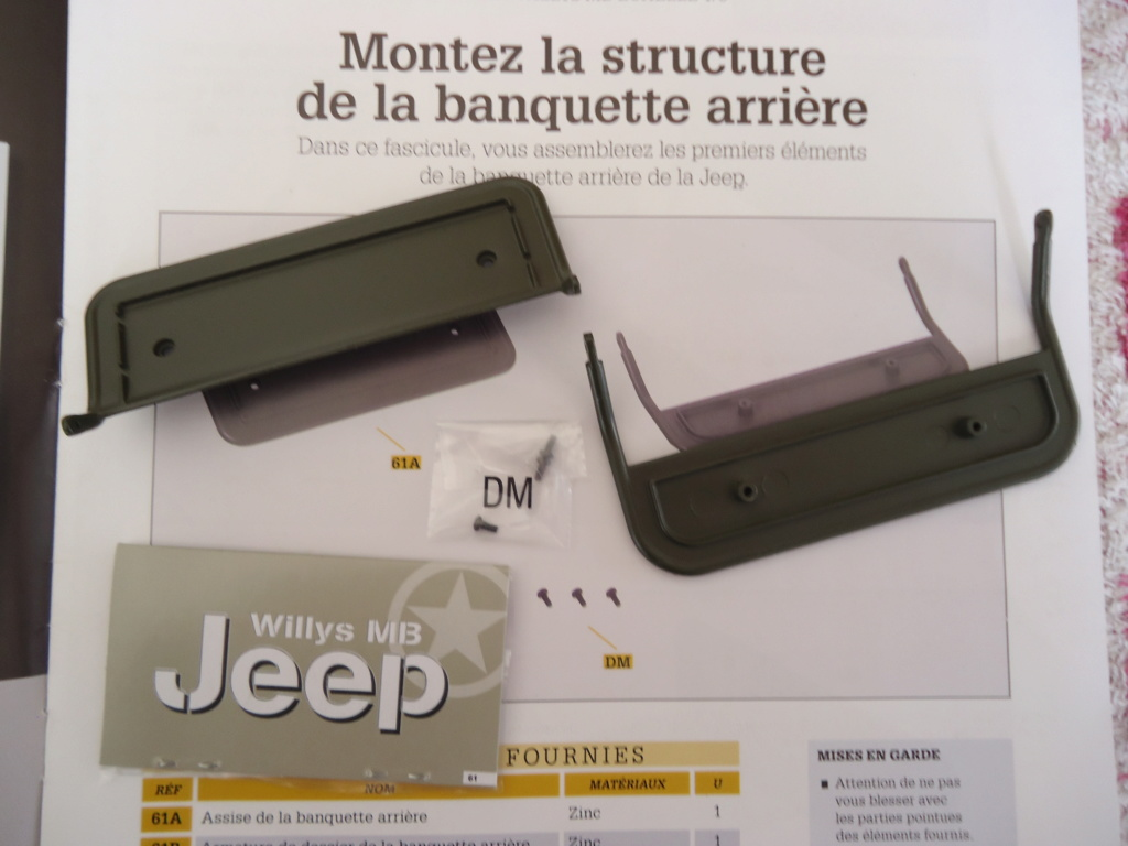 Jeep Willys MB au 1/8ème. Collection Hachette.Par Dan le Cévenol - Page 5 Dsc01354