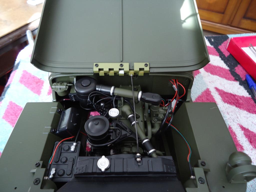 Jeep Willys MB au 1/8ème. Collection Hachette.Par Dan le Cévenol - Page 6 Dsc01387