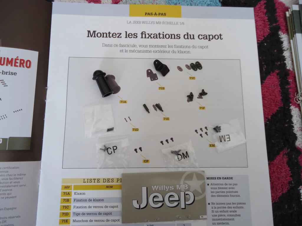 Jeep Willys MB au 1/8ème. Collection Hachette.Par Dan le Cévenol - Page 6 Dsc01390