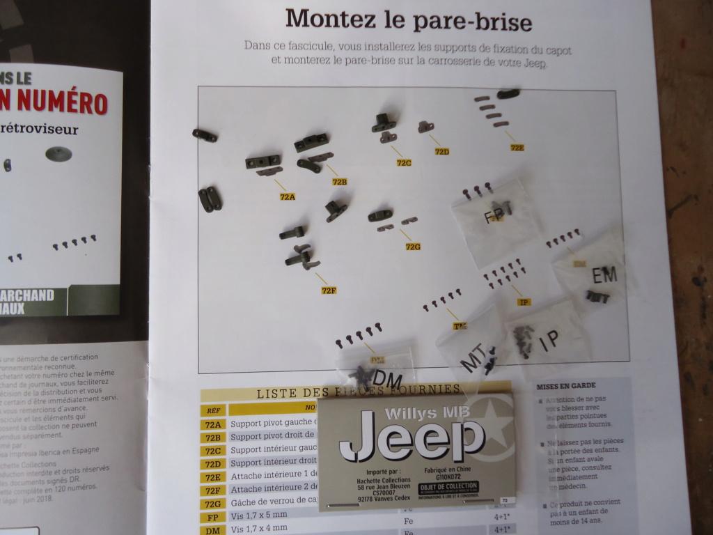 Jeep Willys MB au 1/8ème. Collection Hachette.Par Dan le Cévenol - Page 6 Dsc01395