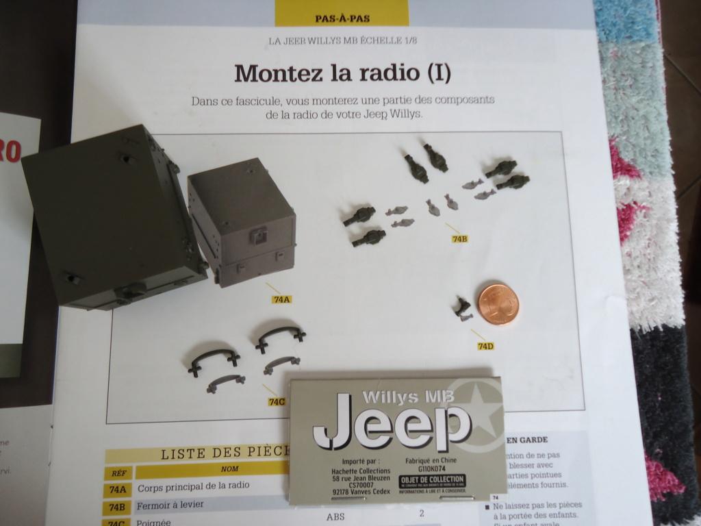 Jeep Willys MB au 1/8ème. Collection Hachette.Par Dan le Cévenol - Page 6 Dsc01410