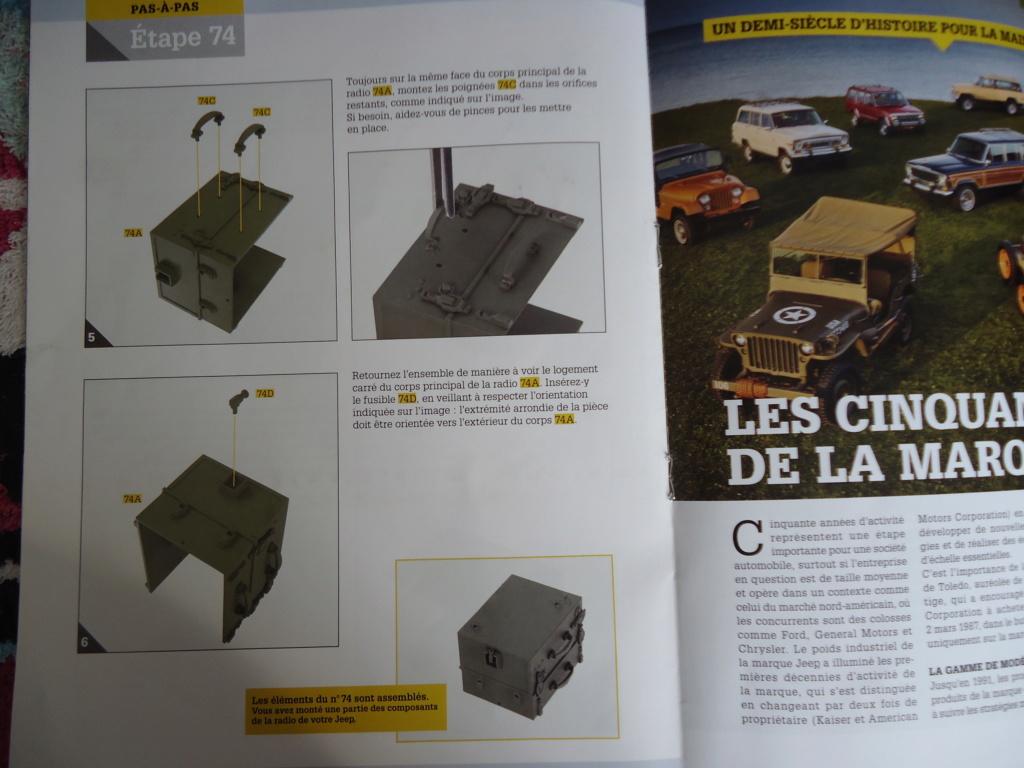 Jeep Willys MB au 1/8ème. Collection Hachette.Par Dan le Cévenol - Page 6 Dsc01412