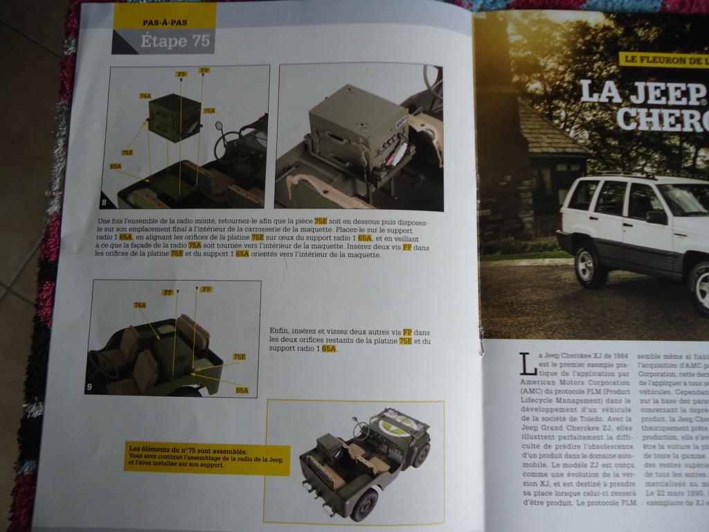 Jeep Willys MB au 1/8ème. Collection Hachette.Par Dan le Cévenol - Page 6 Dsc01416