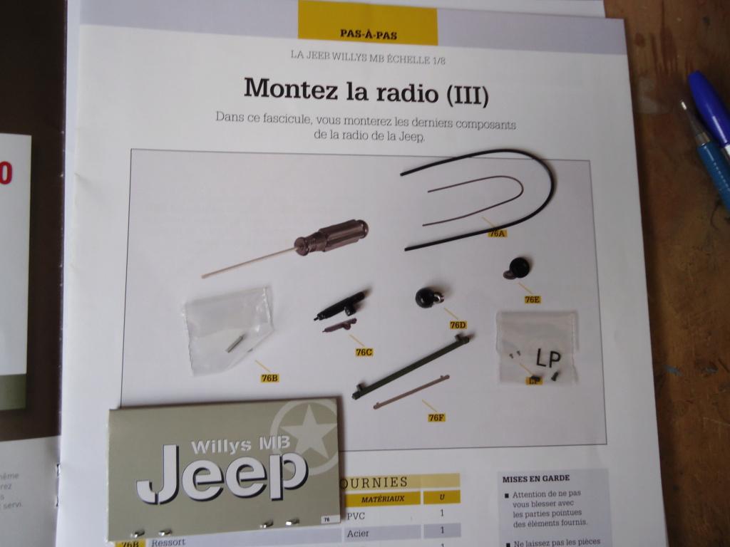 Jeep Willys MB au 1/8ème. Collection Hachette.Par Dan le Cévenol - Page 6 Dsc01417