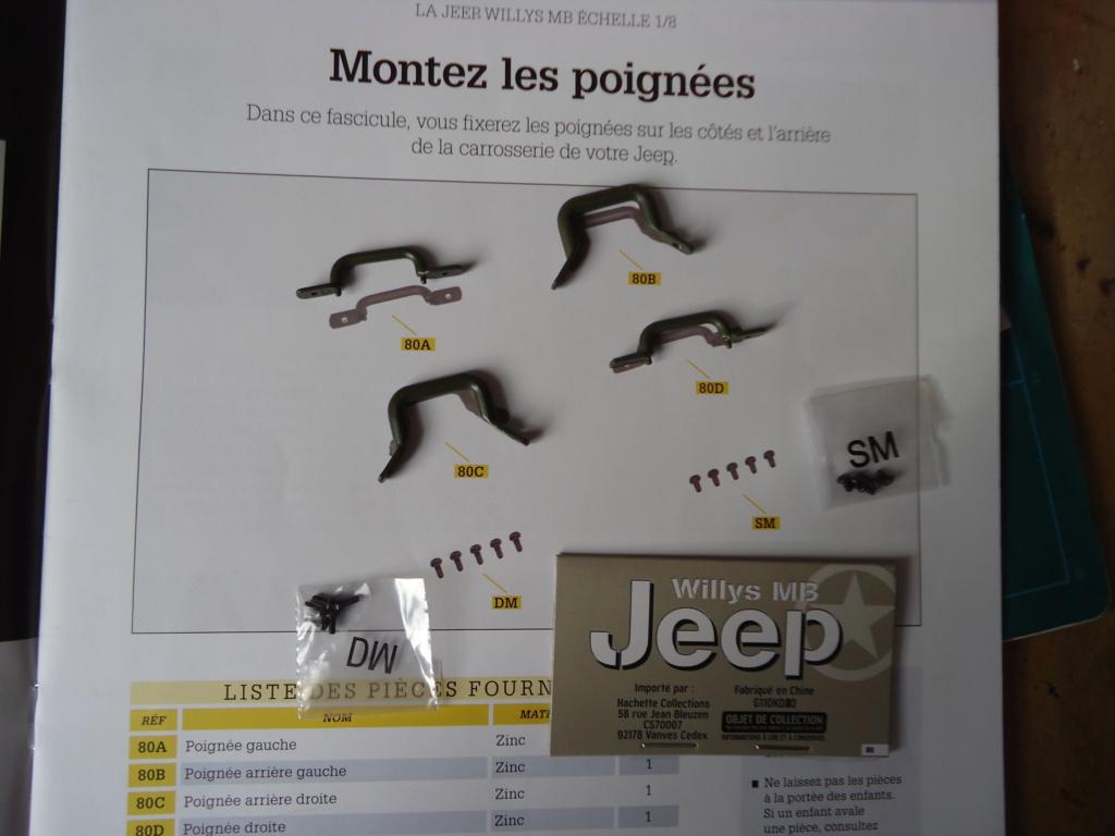 Jeep Willys MB au 1/8ème. Collection Hachette.Par Dan le Cévenol - Page 6 Dsc01430