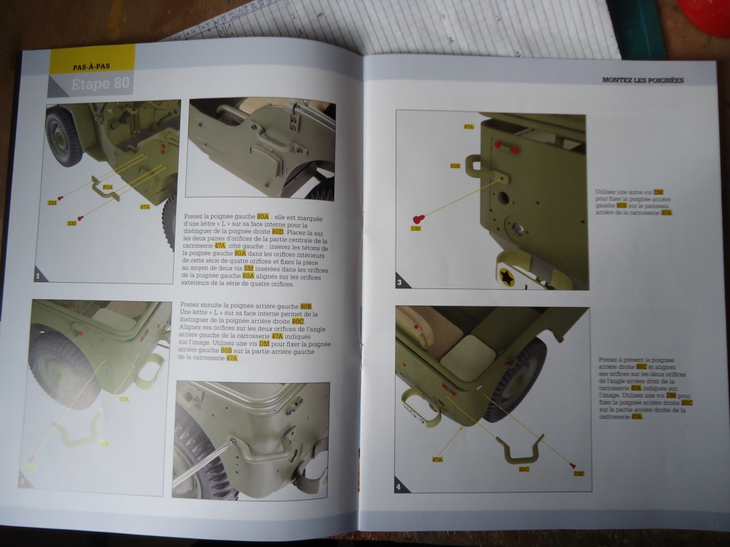 Jeep Willys MB au 1/8ème. Collection Hachette.Par Dan le Cévenol - Page 6 Dsc01431