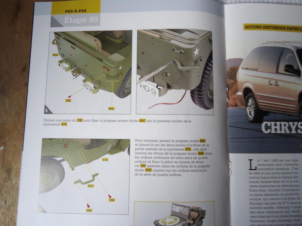 Jeep Willys MB au 1/8ème. Collection Hachette.Par Dan le Cévenol - Page 6 Dsc01432