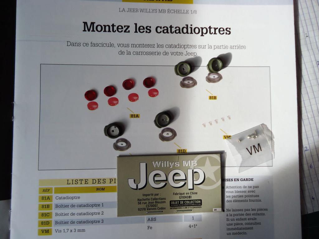 Jeep Willys MB au 1/8ème. Collection Hachette.Par Dan le Cévenol - Page 6 Dsc01435