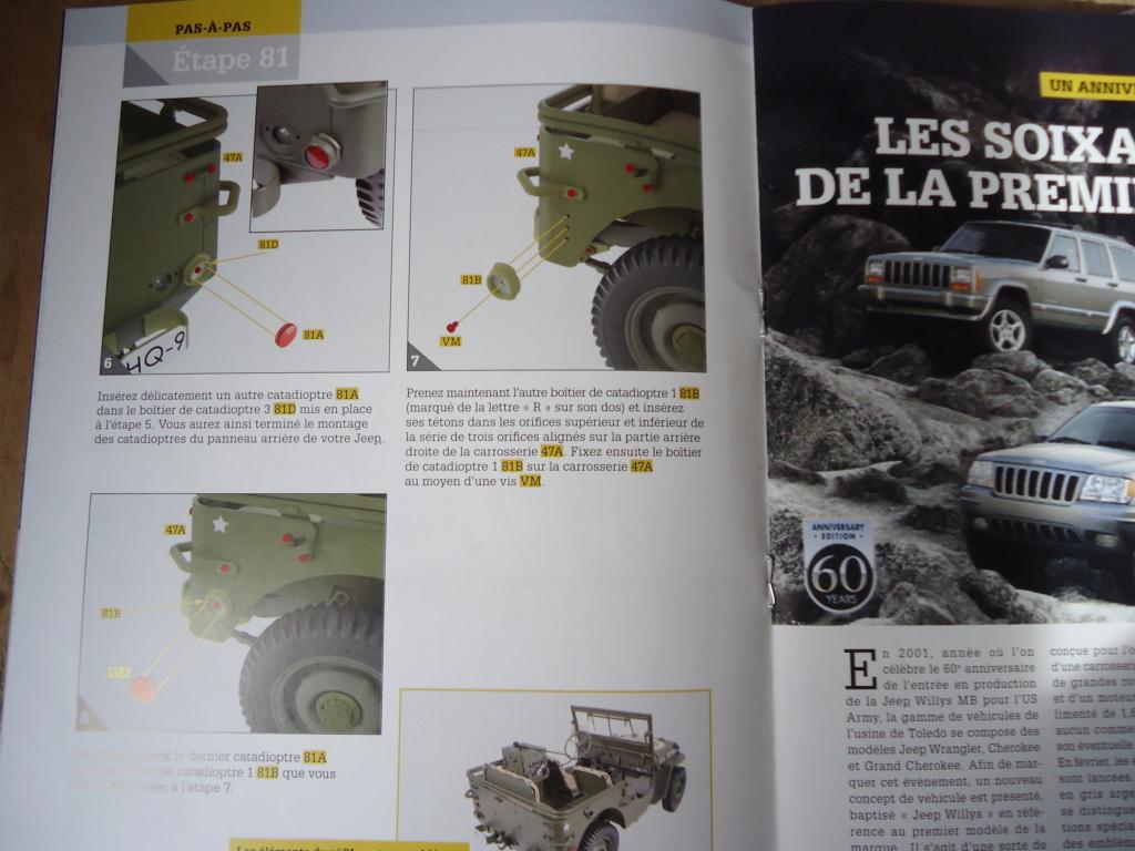 Jeep Willys MB au 1/8ème. Collection Hachette.Par Dan le Cévenol - Page 6 Dsc01437