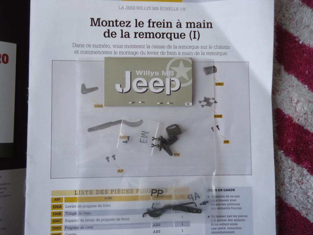 Jeep Willys MB au 1/8ème. Collection Hachette.Par Dan le Cévenol - Page 9 Dsc01549