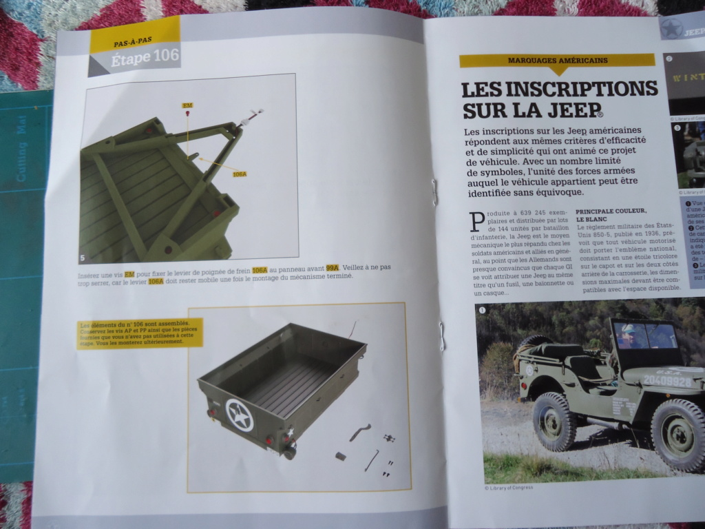 Jeep Willys MB au 1/8ème. Collection Hachette.Par Dan le Cévenol - Page 9 Dsc01551