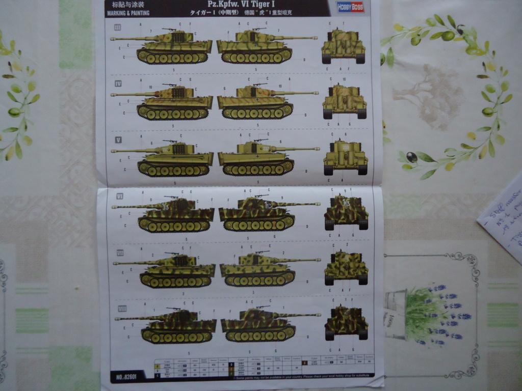 Le Panzerkampfwagen VI Tiger Ausf. E de Hobby Boss au 1/16  Par Dan le Cévenol Dsc01582