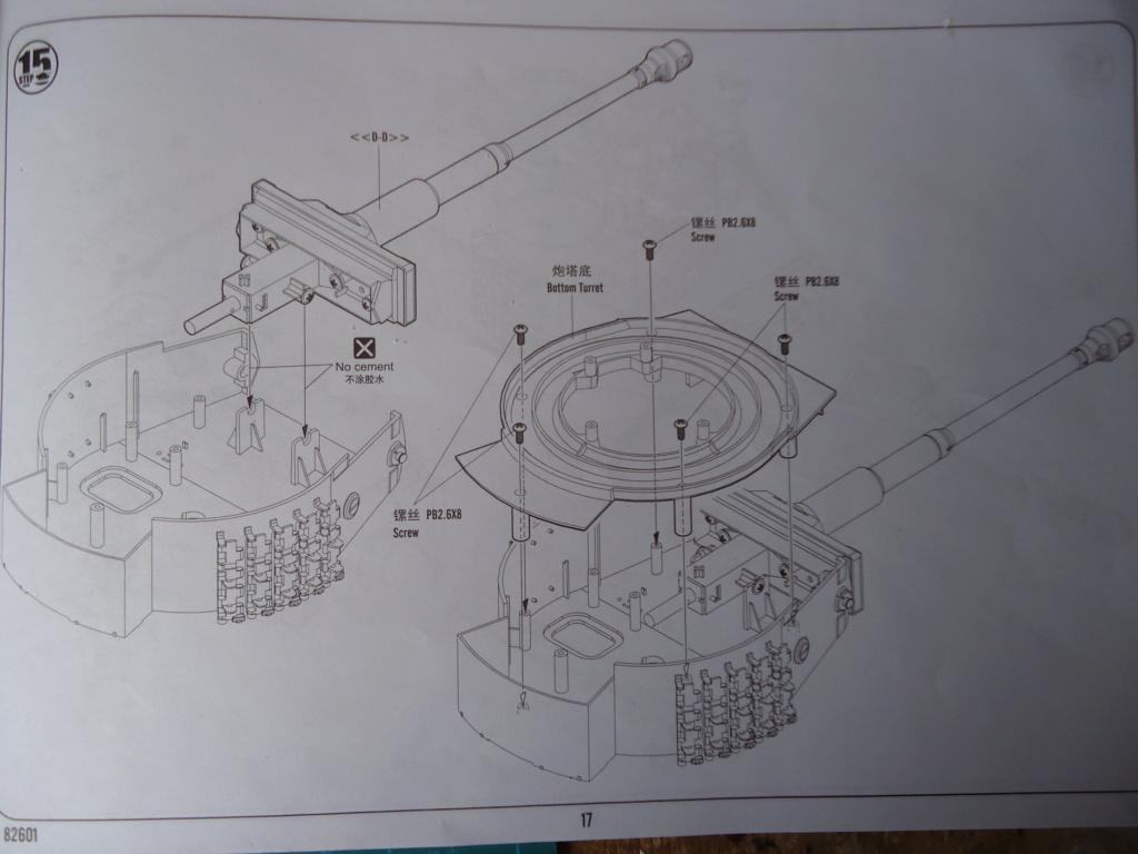 Le Panzerkampfwagen VI Tiger Ausf. E de Hobby Boss au 1/16  Par Dan le Cévenol - Page 3 Dsc01722