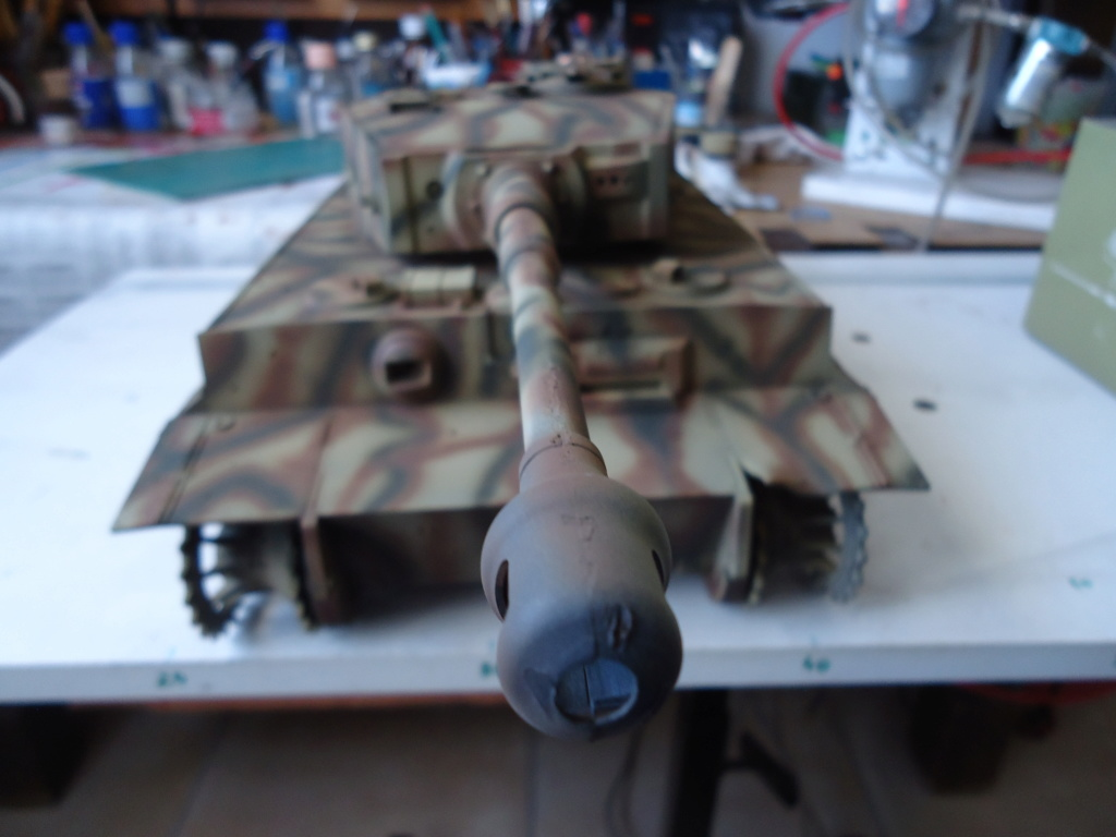Le Panzerkampfwagen VI Tiger Ausf. E de Hobby Boss au 1/16  Par Dan le Cévenol - Page 4 Dsc01821