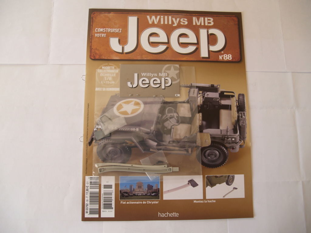 Jeep Willys - 1/8ème - Ed. Hachette - Construction par Glénans (Partie 1) - Page 39 P1011568