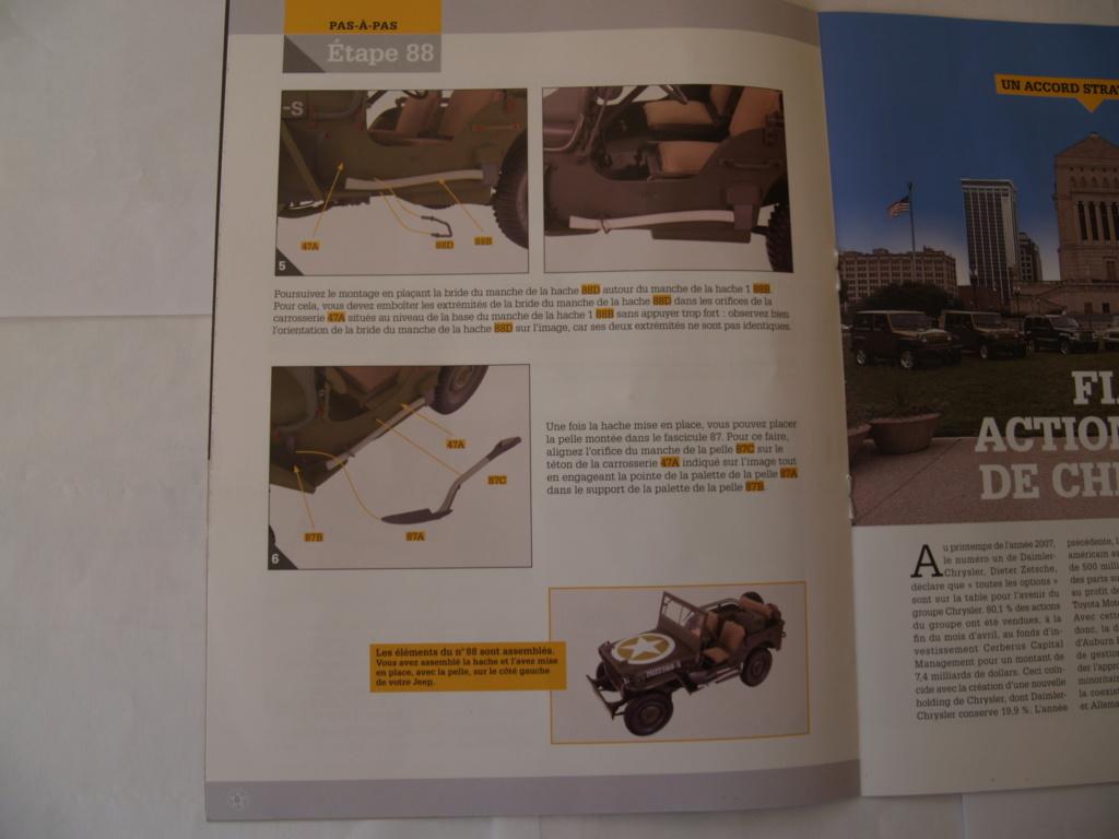 Jeep Willys - 1/8ème - Ed. Hachette - Construction par Glénans (Partie 1) - Page 39 P1011570