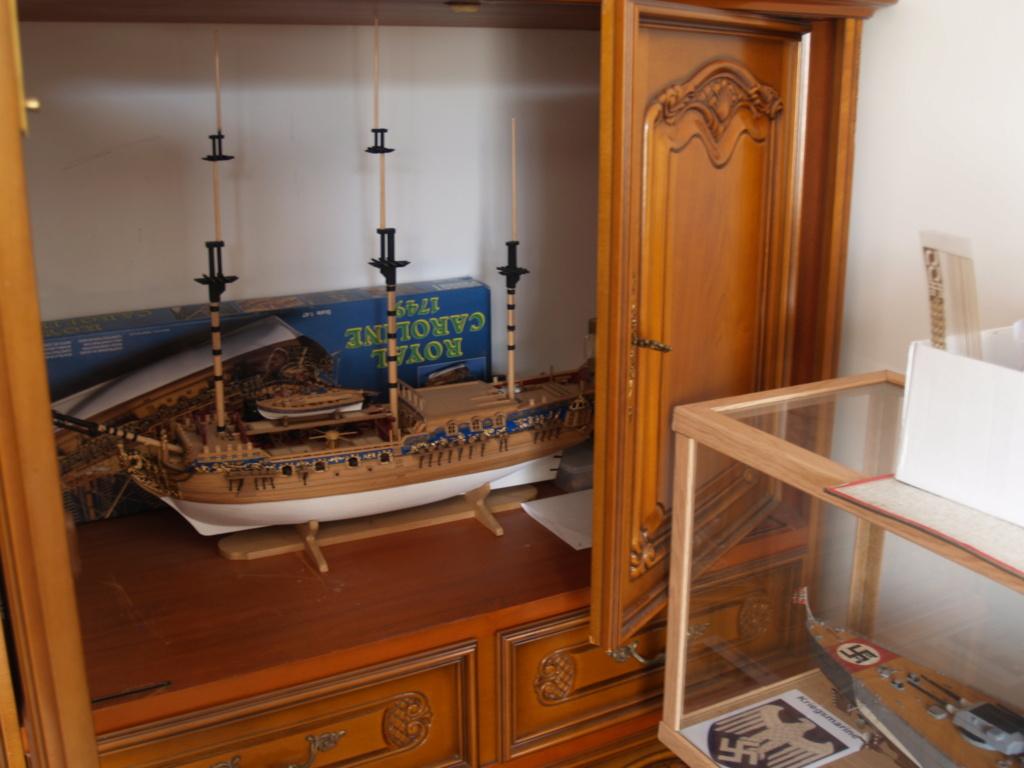 """Construction du """"Sovereign of the Seas"""" au 1/84 par Glénans - Partie II - Page 43 P1011583"""