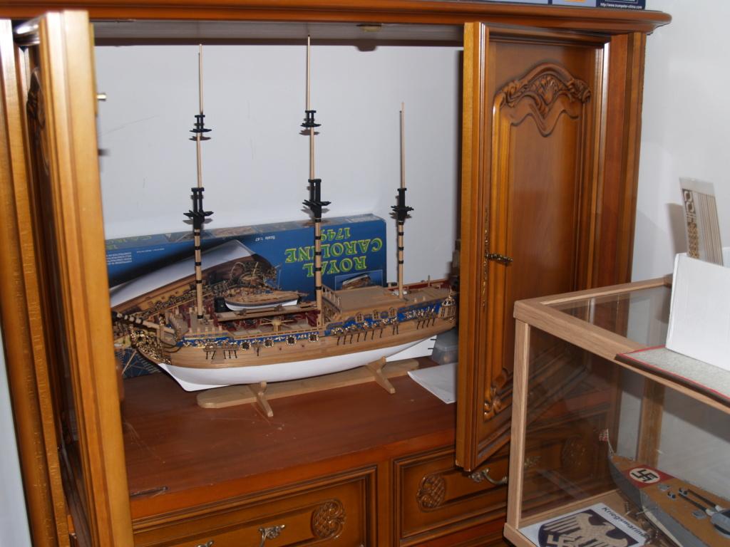 """Construction du """"Sovereign of the Seas"""" au 1/84 par Glénans - Partie II - Page 43 P1011584"""