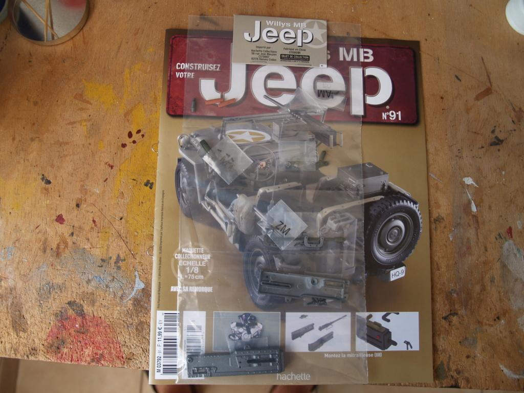 Jeep Willys - 1/8ème - Ed. Hachette - Construction par Glénans (Partie 2) P1011622
