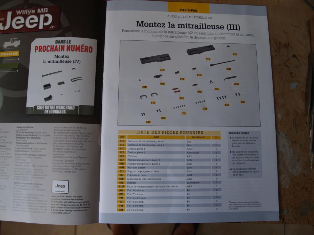 Jeep Willys - 1/8ème - Ed. Hachette - Construction par Glénans (Partie 2) P1011623