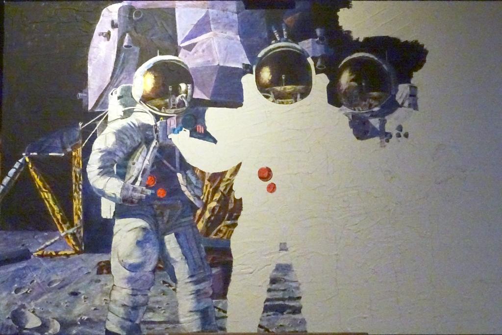 Peintures d'Alan Bean Fantas13