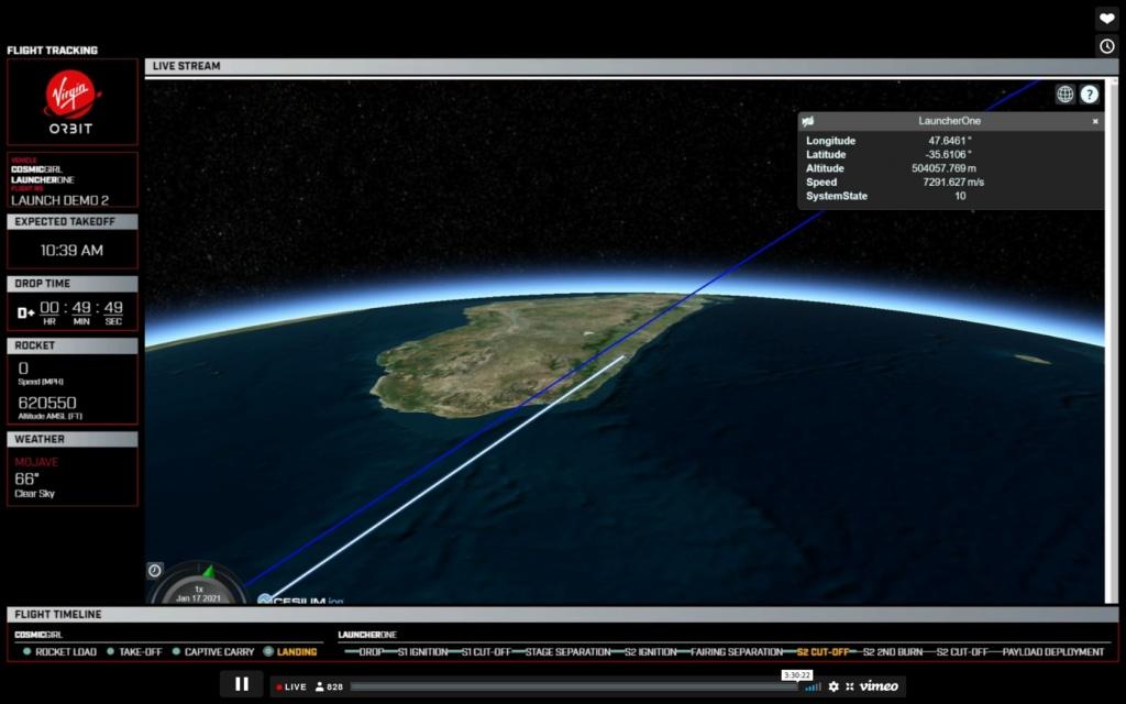 [Virgin Orbit] LauncherOne Demo-2 (ELaNa 20) - 17.1.2021 - Page 2 Fr1610