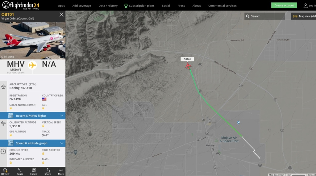 [Virgin Orbit] LauncherOne Demo-2 (ELaNa 20) - 17.1.2021 Fr210