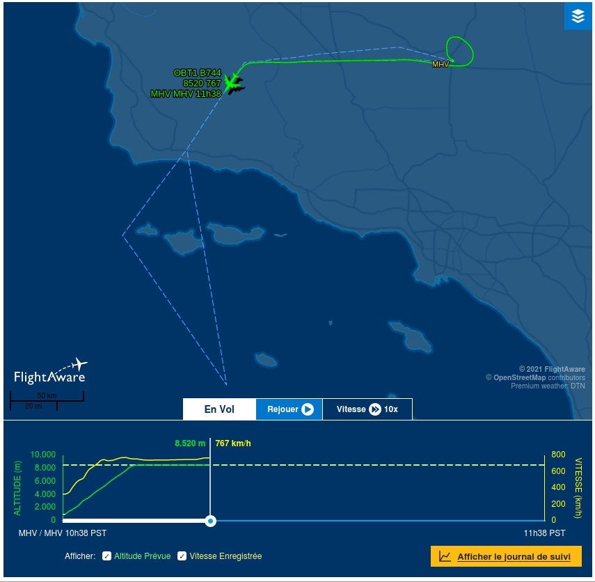 [Virgin Orbit] LauncherOne Demo-2 (ELaNa 20) - 17.1.2021 Fr310