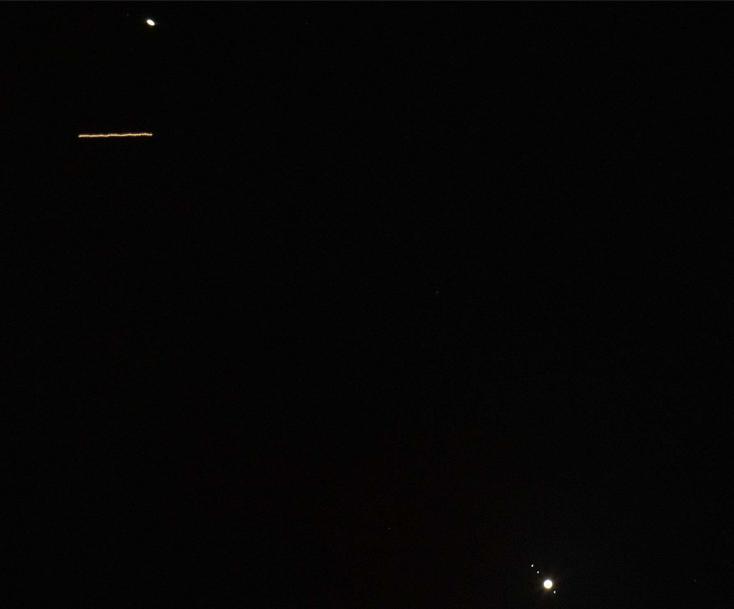 Conjonction Jupiter - Saturne Iss_sa10