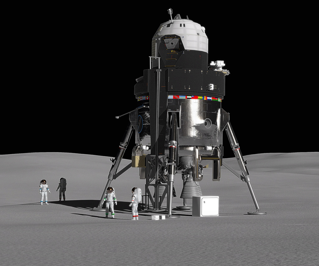 Lunar Lander de Lockheed Martin Lander10