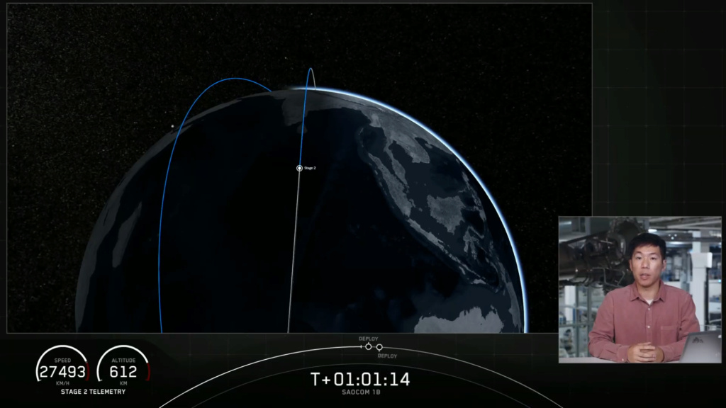 Falcon 9 (Saocom-1B) - CCAFS - 30.8.2020 - Page 2 Spacex22