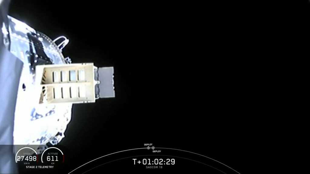 Falcon 9 (Saocom-1B) - CCAFS - 30.8.2020 - Page 2 Spacex24