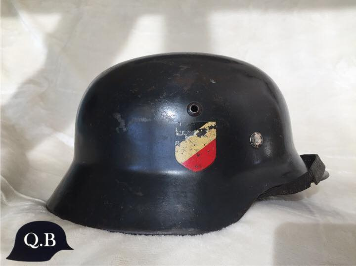 Les casques de la Luftwaffe 110