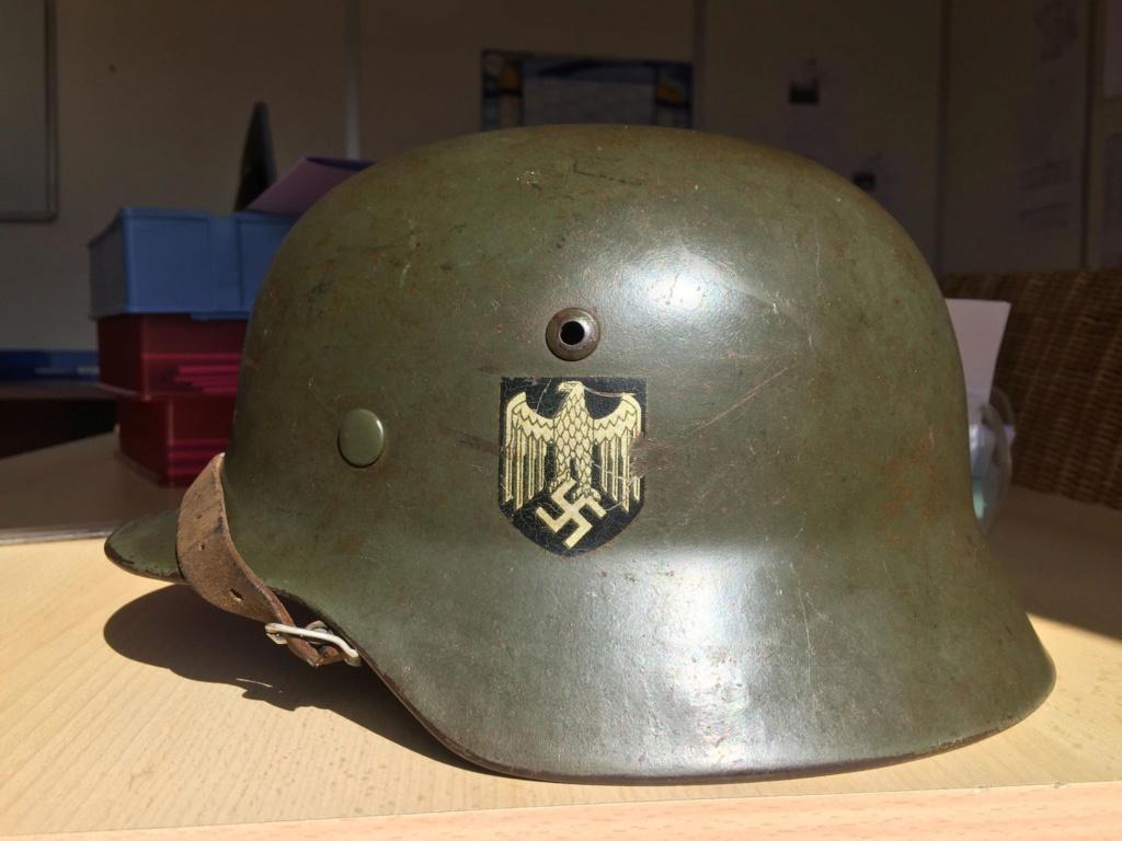 La folie des M35 et autres casques teutons 345