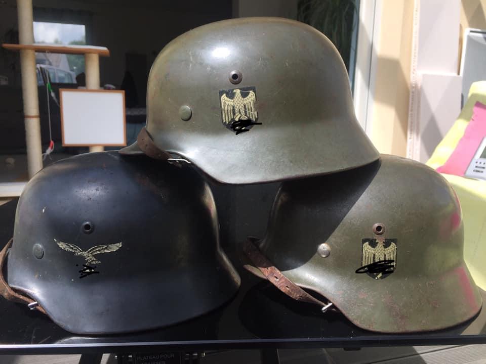 La folie des M35 et autres casques teutons - Page 2 350
