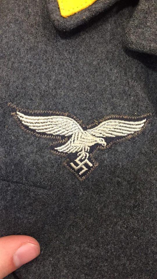 Marquage Flieger para allemand ww2 518