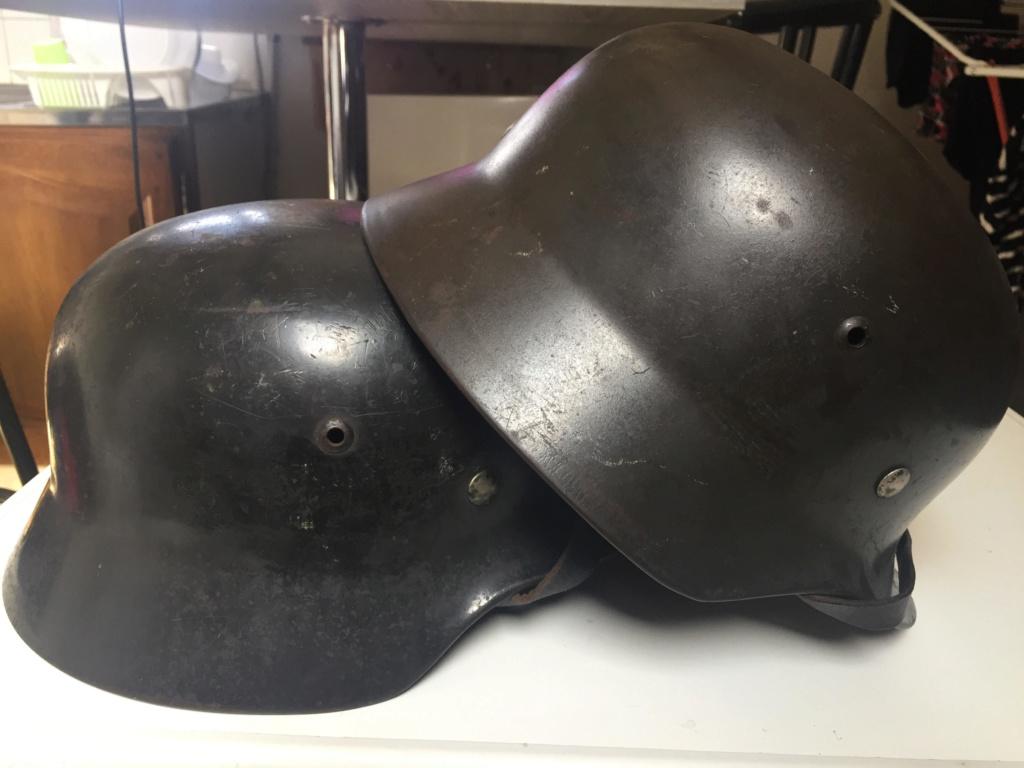 La folie des M35 et autres casques teutons L114