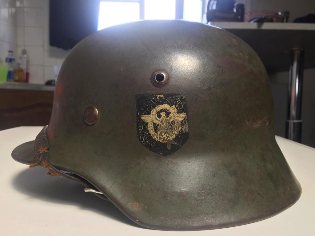 Cas d'école de casque allemand reconditionné. P210