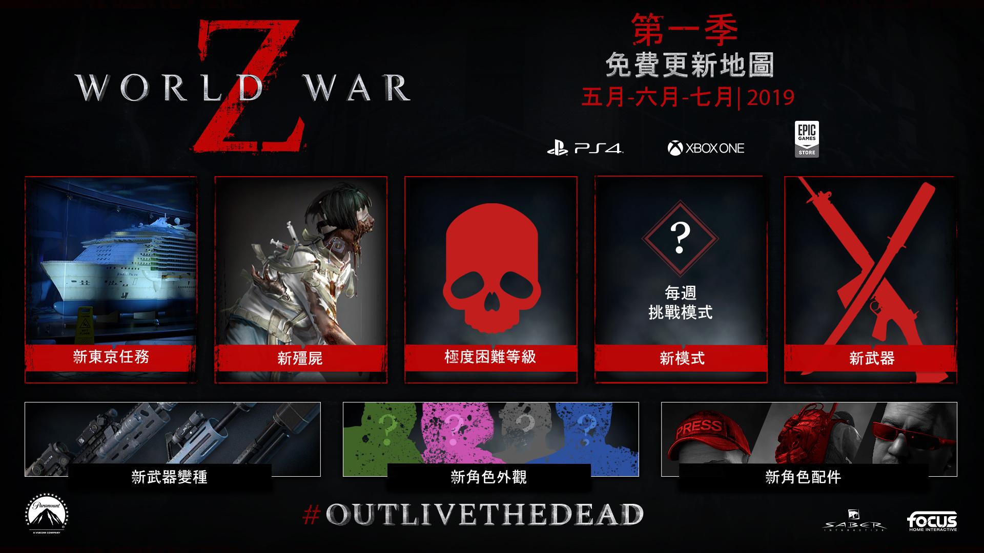 《末日之戰 (WORLD WAR Z)》公開 PLAYSTATION®4 & XBOX ONE平台  第二階段更新內容 0013
