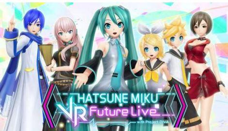 PS VR『初音未來 VR Future Live』 「初音未來×SEGA Project」10週年紀念,將實施50%OFF的定價折扣  130