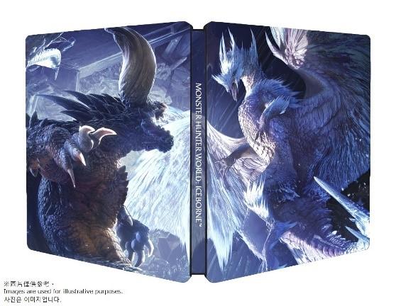 《魔物獵人 世界 Iceborne》將於台灣發售主程式+資料片的實體一般版以及典藏版,首批預購附贈精美Steelbook鐵盒 214