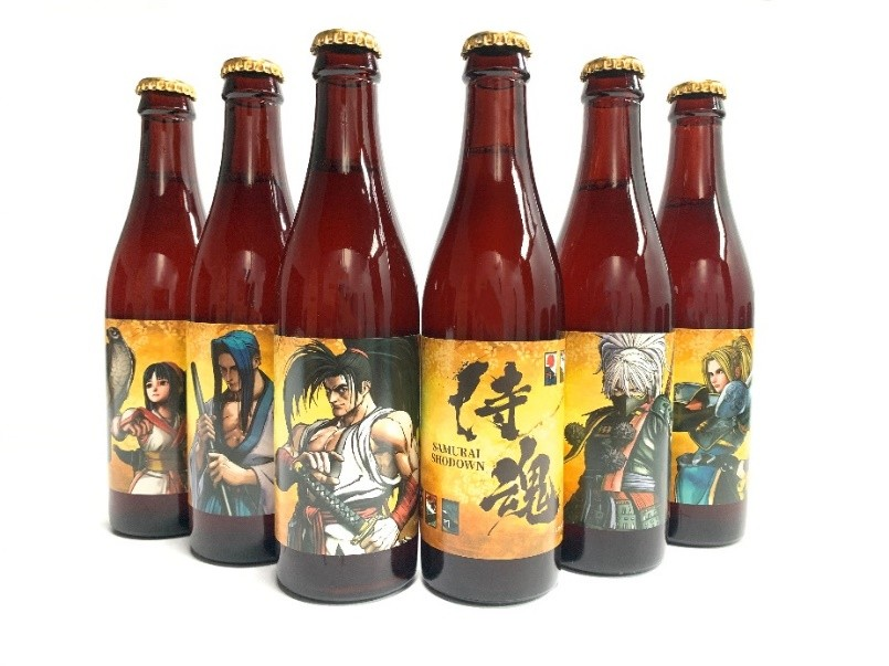 SNK劍戟對戰格鬥遊戲《SAMURAI SHODOWN》今日正式發售! 聯名「北台灣啤酒」限量角色禮盒組預購開跑! 620