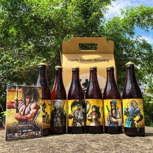 SNK劍戟對戰格鬥遊戲《SAMURAI SHODOWN》今日正式發售! 聯名「北台灣啤酒」限量角色禮盒組預購開跑! 820