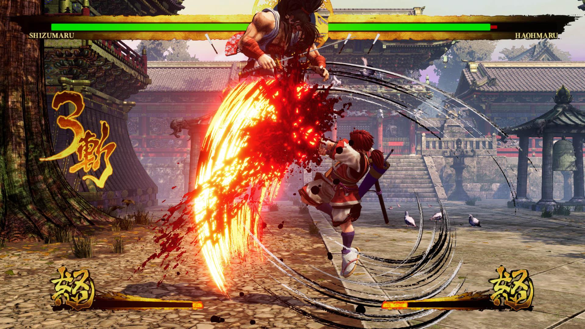 遊戲 - PlayStation®4/Xbox One平台劍戟對戰格鬥遊戲《SAMURAI SHODOWN》 免費DLC追加角色「緋雨 閑丸」9月17日開放下載! _410