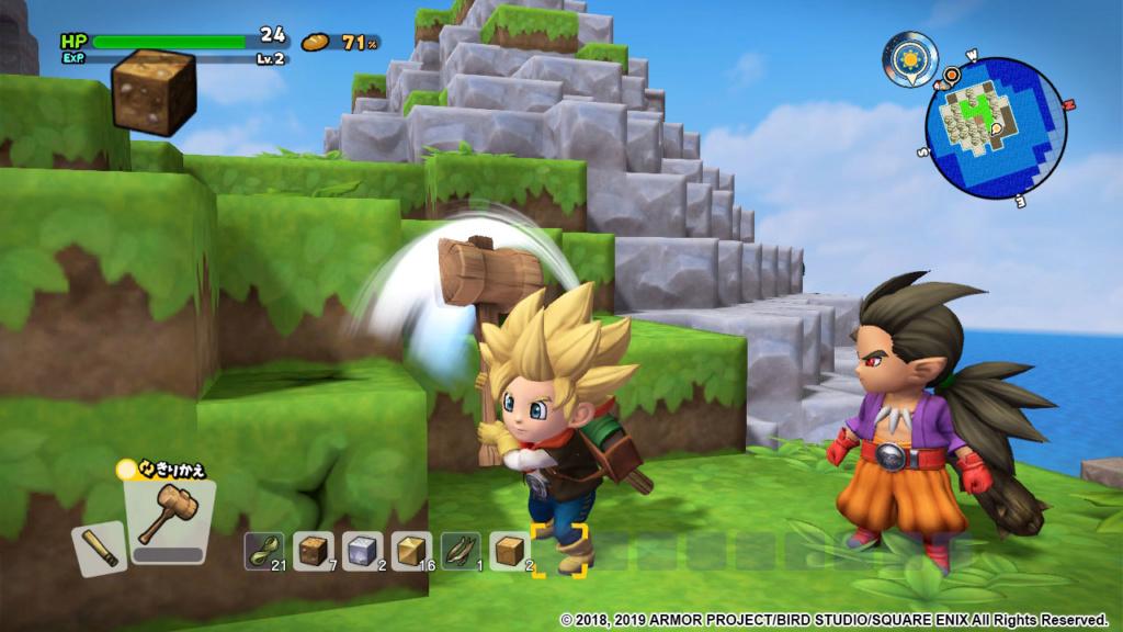 Nintendo Switch™《勇者鬥惡龍 創世小玩家2 破壞神席德與空蕩島》繁體中文版將於8月9日正式發售! Dqb2_o13