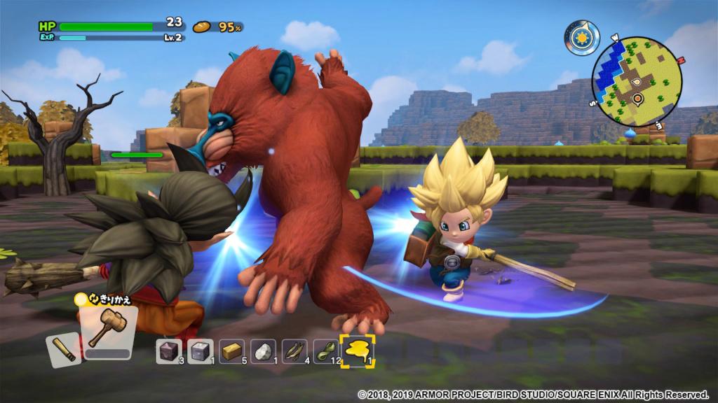 Nintendo Switch™《勇者鬥惡龍 創世小玩家2 破壞神席德與空蕩島》繁體中文版將於8月9日正式發售! Dqb2_o14