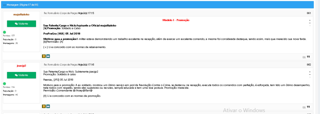 CFO - Postagem de atividades Screen34